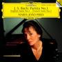 Partita No. 1 , Englische Sui - Bach  /  Maria Joao Pires