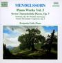 Mendelssohn: Piano Works vol.5 - F. Mendelssohn