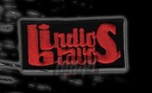 Logo Peace! - Małe Czerwony Napis _Nas4262060_ - Indios Bravos