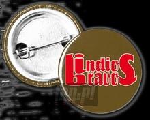 Logo (Khaki-Czerwona) _Pin4262190_ - Indios Bravos