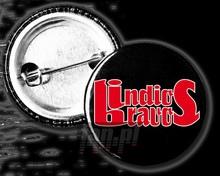 Logo (Czarno-Czerwona) _Pinb25009_ - Indios Bravos