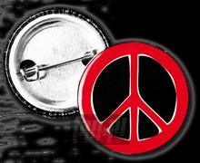 Peace (Czarno-Czerwona) _Pin4262192_ - Indios Bravos