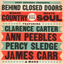 Behind Close Doors Where Country Meets Soul - V/A