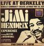 Jimi Hendrix Experience Live At Berkeley - Jimi Hendrix