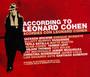 According To Leonard Cohen - Tribute to Leonard Cohen