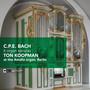6 Organ Sonatas - C Bach .P.E.