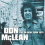 Live In New York 1971 - Don McLean