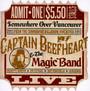 Commodore Ballroom Vancouver 1981 - Captain Beefheart