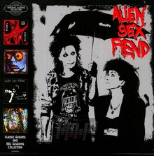 Classic Albums & BBC Sessions Collection : 4CD - Alien Sex Fiend