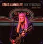 Gregg Allman Live: Back T - Gregg Allman