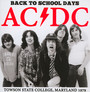 Back To School Days - AC/DC