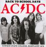 Back To School Days - AC/DC