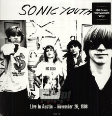 Live In Austin   November 26  1988 - Sonic Youth
