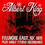 Live At The Fillmore Plus Early Studio Recordings - Albert King