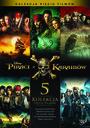 Piraci Z Karaibów Pakiet 1-5 - Movie / Film