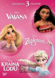 Disney Księżniczka (Vaiana, Zaplątani, Kraina Lodu) - Movie / Film