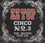 Cinco: The Second Five Lp's - ZZ Top
