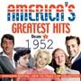 America's Greatest Hits 1952 - America's Greatest Hits 1952  /  Various