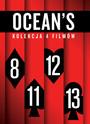 Ocean's (4 DVD) Kolekcja 4 Filmów - Movie / Film