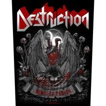 Born To Perish (Backpatch) _Nas50553_ - Destruction