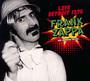 Live Detroit 1976 - Frank Zappa