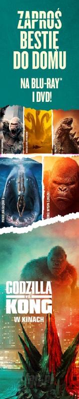 Godzilla vs Kong W Kinach Tie